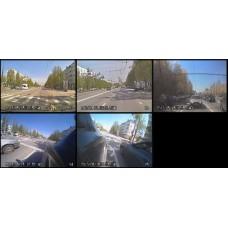 Видеонаблюдение для автошкол (6 камер)